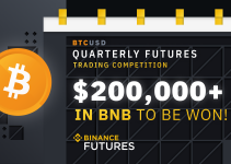 $200,000 To Be Won In Binance Quarterly Futures Trading Competition!