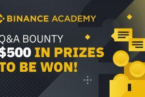 Binance Academy Q&A Bounty