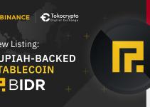 Binance and Tokocrypto List Rupiah-Backed Stablecoin BIDR