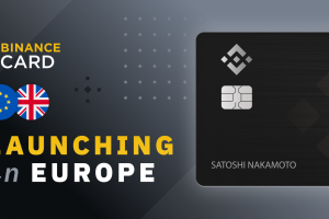 Binance Card Launches in Europe