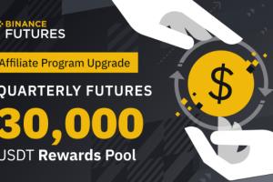 Binance Futures Affiliate Upgrade and 30,000 USDT Invitation Rewards Pool