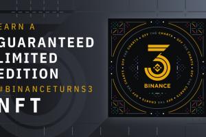 Earn a Guaranteed Limited Edition Binance NFT – #BinanceTurns3