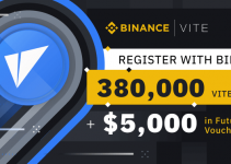 Register and Trade on Binance.com to Win Prizes – 380,000 VITE & 5,000 USDT in Futures Vouchers to be Won!