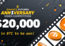 $20,000 in Bitcoin to be Won in Binance Futures 1st Anniversary Video Competition!