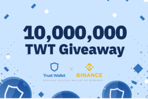 Binance x Trust Wallet 10 Million TWT Giveaway