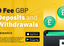 Zero-Fee GBP Faster Payments for Deposits and Withdrawals This Month