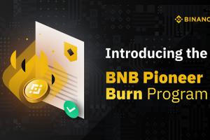 Binance Introduces the BNB Pioneer Burn Program, Adjusts BNB Token Burn Mechanics