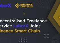 Decentralized Freelance Service LaborX Joins Binance Smart Chain