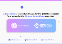 AllianceBlock secures funding under the $100M accelerator fund set up for the Binance Smart Chain ecosystem