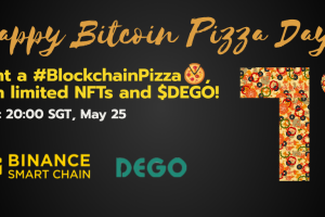 #BlockchainPizza: Win unique NFTs from DEGO and BSC!