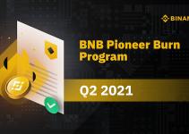 BNB Pioneer Burn Program: Q2 2021 Review